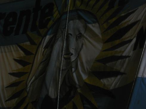Evita, símbolo e ícono entre todos los peronistas